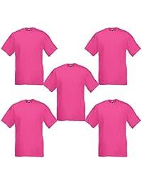 8f52ab078 Amazon.co.uk: Pink - Tops, T-Shirts & Shirts / Men: Clothing