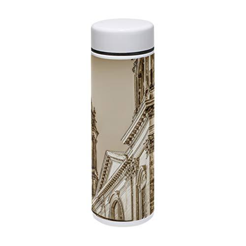 MUOOUM Retro Building Berlin Cathedral Vakuum-isolierte Edelstahl-Reisebecher Sport-Wasserflasche 19,1 ml heiß für 12 Stunden