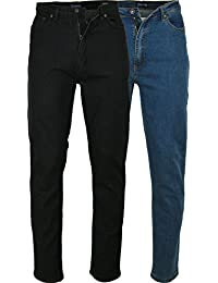 dded541db2a3 Herren Rockford Carlos Jeans - Bequeme Passform Stretch Denim Jeans Chino  Hose