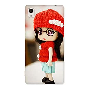 Cute Cute Little Angel Multicolor Back Case Cover for Sony Xperia M4