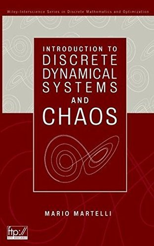 Introduction to Discrete Dynamical Systems and Chaos (Wiley Series in Discrete Mathematics and Optimization) by Mario Martelli (1999-09-03)