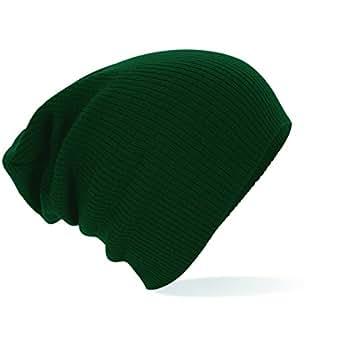 Beechfield Slouch Beanie, verschiedene Farben Bottle Green,Bottle Green