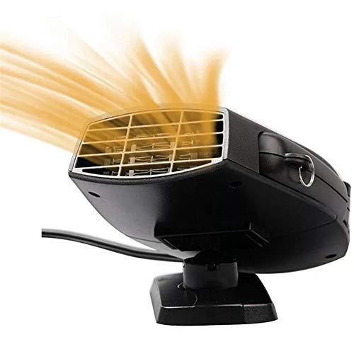 Nuofake 150w 12v / 24v stufa elettrica dello scaldino dell'automobile fan sbrinatore disappannatore warm air blower recentemente progettato (voltage : 12v)