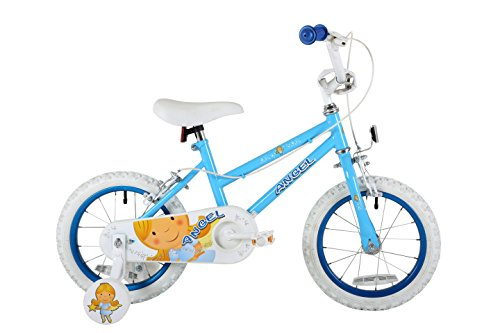 Sonic MO1603 Girl Angel Bike, 14 inch Wheels - Blue