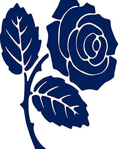 Pegatina Promotion Rose Blume Blüte Dornen Aufkleber ca.20 cm Autoaufkleber,Wandtattoo, Waschanlagenfest, Profi-Qualität, Decal,Sticker -