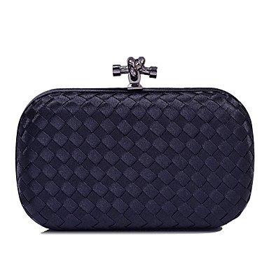 pwne L. In West Wome'S Fashion Knit Linien Abend Tasche Black