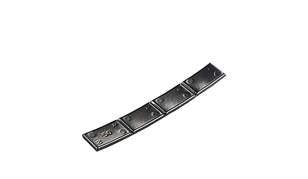 50x Klebegewichte Schwarz Wuchtgewichte Typ361 50g Für Alu Leichtmetallfelgen Auto