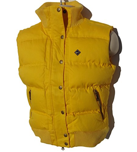 Chaleco térmico acolchado Nike mujer color amarillo