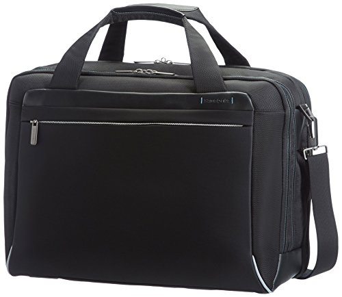 "Samsonite Cartella Spectrolite Bailhandle L 17.3"" Espandibile, 29 liters Nero (Black)"