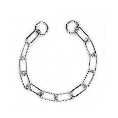 kerbl-collier-a-strangolo-a-chaine-avec-anneaux-longs-en-acier-inoxydable-chrome-disponible-en-diffe
