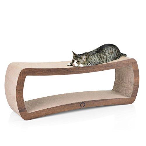 CanadianCat Company ® | Cat's Grove XXL Kratzmöbel, Kratzbrett aus Wellpappe