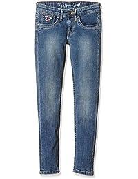 Pepe Jeans Pau, Jeans Para Niños, Azul (Denim P58), 12 años