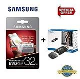 Samsung EVO PLUS 32 Go microSD 95MB/s Carte mémoire Classe 10 32 Gb UHS U1 TF...