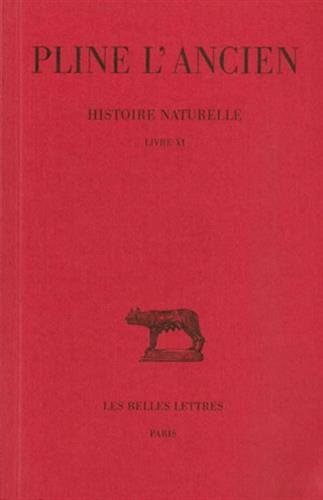 Histoire naturelle, livre XI