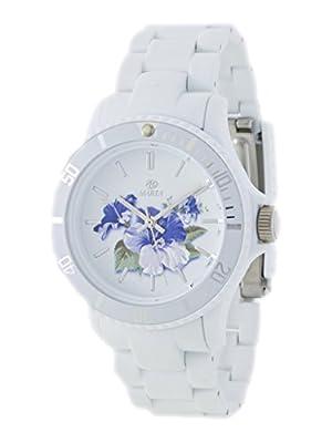 Reloj Marea Mujer Trendy B40501/3 Flores Blanco