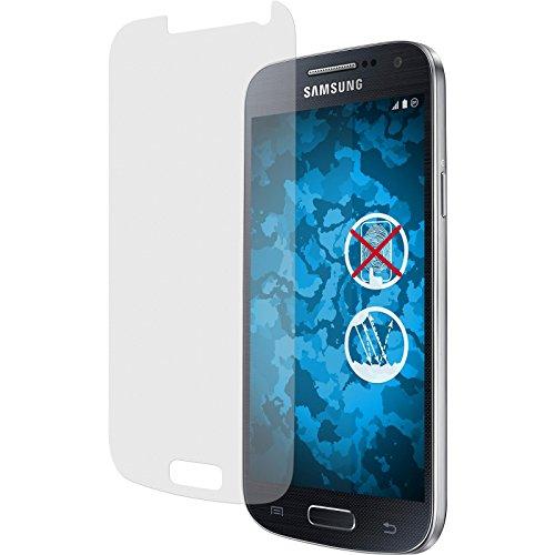 PhoneNatic 4er-Pack Displayschutzfolien matt kompatibel mit Samsung Galaxy S4 Mini Plus I9195