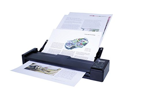 IRIS IRISCAN Pro 3 WIFI tragbarer Scanner (mit WLAN, 8 Seiten pro Min, USB und Akku-Betrieb)