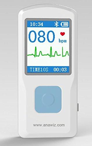 Portable Handheld Single Channel ECG / EKG Machine CE Certified