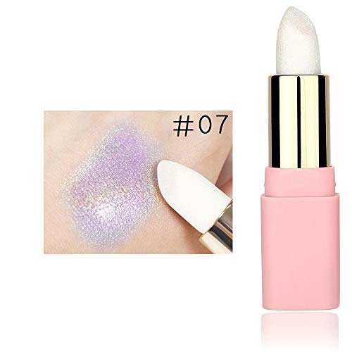 PinkLu Lipgloss Clear Glitterlippenstift Set Wasserfest, Lipgloss Gold Kosmetik Frauen Sexy Lips...
