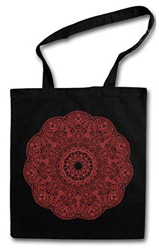 MANDALA V Shopper Reusable Hipster Shopping Cotton Bag Einkauftasche Einkaufstasche Tasche Stofftasche Jutebeutel Beutel Buddhismus Hinduis...
