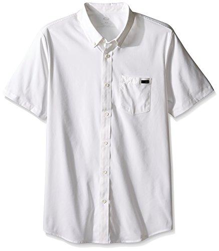 Oakley Herren Icon T-Shirt, weiß, FR : 38 (Taille Fabricant : M)