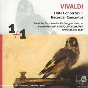 Vivaldi - Concertos pour flûte à bec / Concertos pour flûte