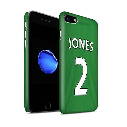 Offiziell Sunderland AFC Hülle / Matte Snap-On Case für Apple iPhone 7 / Harper Muster / SAFC Trikot Away 15/16 Kollektion Jones