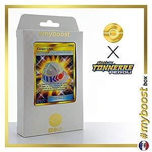 Casque Choix (Casco Elegido) 229/214 Entrenadore Secreta - #myboost X Soleil & Lune 8 Tonnerre Perdu - Box de 10 Cartas Pokémon Francés