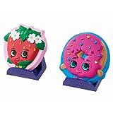 Shopkins Shaker Maker - D'Lish Donut and Strawberry Kiss