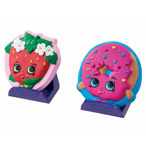 Shopkins Shaker Maker D'Lish Donut und Strawberry Kiss, Spielzeug Shaker Maker