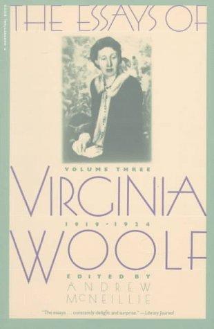 Essays of Virginia Woolf Vol 3 1919-1924: Vol. 3, 1919-1924 por Virginia Woolf
