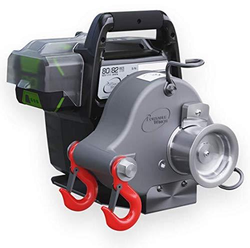 Seil für Spillwinde,Seilwinde Forstwinde  Portable Winch 10mm x 100m Zugseil