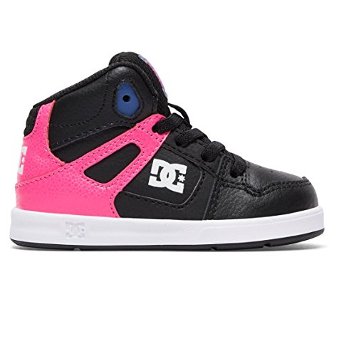 Dc Shoes Rebound Ul T Shoe Pib (Kids) Pink/Black 36 EU (5 US / 4 UK) (Dc Shoes Mädchen)