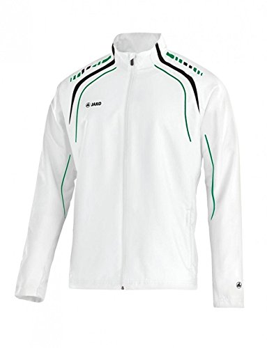 Jako Champion Veste de survêtement pour homme Blanc/noir/vert