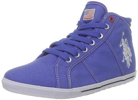 US Polo Assn Brooks2, Chaussures montantes femme - Bleu (Blu), 39 EU