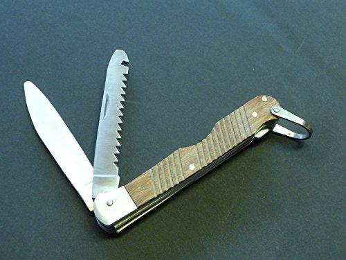 Kinder Taschen-Säge + Messer klappbar Runde Spitze