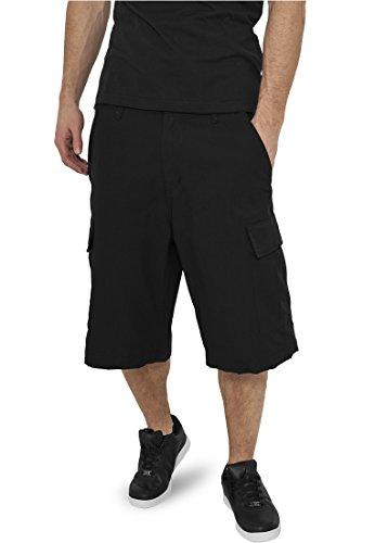 Camouflage Cargo Shorts black (Camouflage Cotton Tuta)