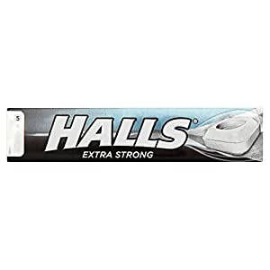 Halls Menthol extra fort (35g x 20 x 1 pack size)