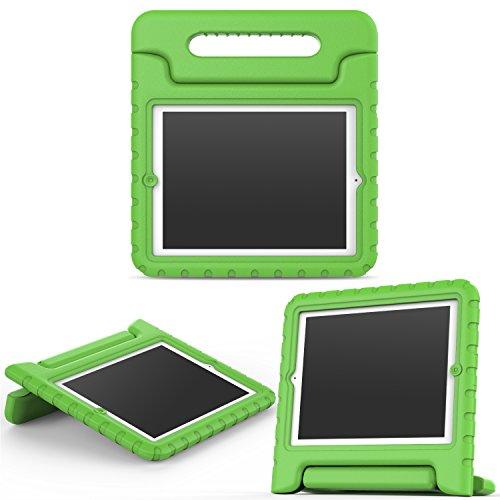 Kinder Fälle 3 Ipad Für (MoKo Hülle für iPad 2 / 3 / 4 - Superleicht EVA Kids Shock Proof Cover Stoßfest Kindgerechte Schutzhülle für Apple iPad 2 / 3 / 4 9.7 Zoll Tablet-PC, Grün)