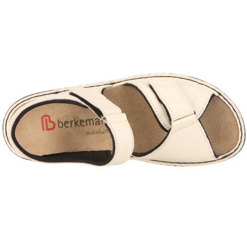 Berkemann Aventin Fabienne washable 03415, Sandales mode femme beige (naturel)