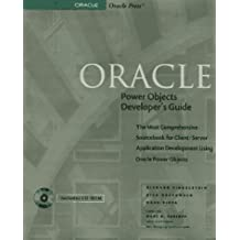 Oracle Power Objects Developer's Guide (Oracle Series)