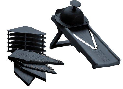 Lacor 60338, Mandolina in plastica con lame a