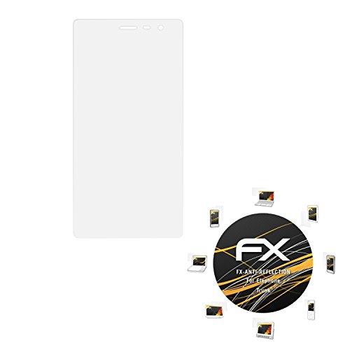 atFolix Panzerfolie kompatibel mit Elephone Trunk Schutzfolie, entspiegelnde & stoßdämpfende FX Folie (3X)