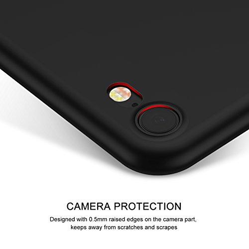 iPhone 7Coque, Casekoo Ultra fin à coque Finition mate Coque rigide de protection intégrale anti-rayures léger Coque pour iPhone 7 iPhone 7 WatermelonRed noir