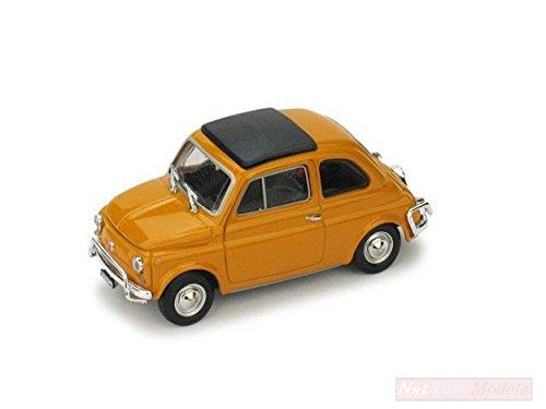 Made in Italy. NEW BRUMM BM0465-04 FIAT 500 L 1968-72 Chiusa Giallo  Positano 1  e4571ed9022
