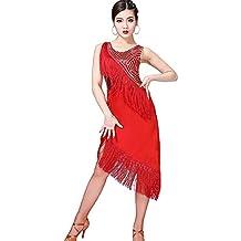 cheap for discount 5324b 180ac vestiti da ballo - Rosso - Amazon.it