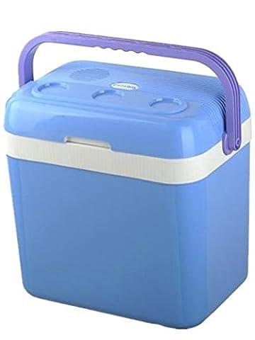 HYHAN® Tragbare Liter 12V Elektro-Camping Ice Box Picknick Indoor Outdoor Beach-Reisen Essen und Trinken Storage Box Car Kühlschrank mit großer Kapazität Sommer Auto Dual-Use kleinen Kühlschrank , days blue