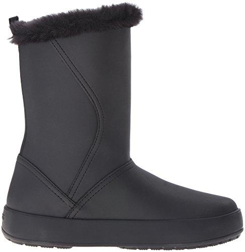 Crocs ColorLite Mid Boot, Bottes Souples femme Black