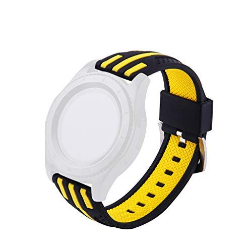 MinusK Verstellbare Weiches Silikon Sport Ersatzarmband für Garmin Forerunner 945 Watch, Armband für Damen Heren Garmin 76 Serie