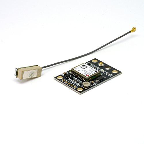 ThingMatic NEO-6M-V2 GPS Modul baugleich zu Ublox/u-blox, kompakte Antenne